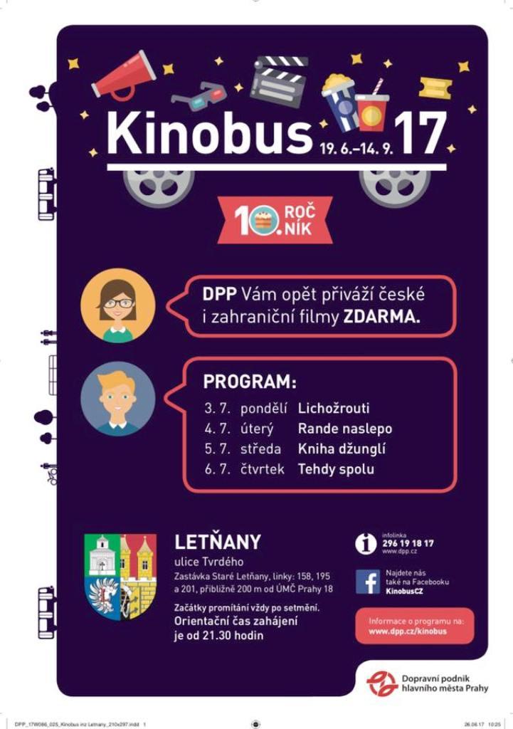 Kinobus Letany | CityBee